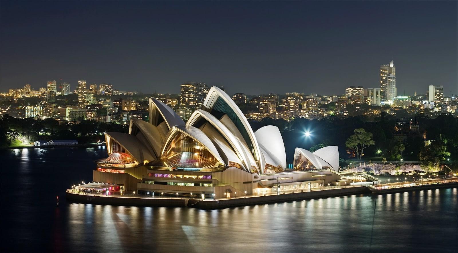 Một trong những biểu tượng của Sydney – Nhà hát Opera Sydney