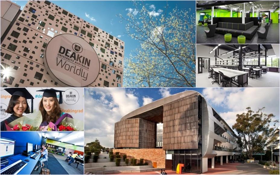 Hiện Deakin đang xếp thứ 3 tại Úc cho triển vọng nghề nghiệp sinh viên